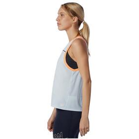 New Balance Printed Fast Flight Tank Women, azul/naranja